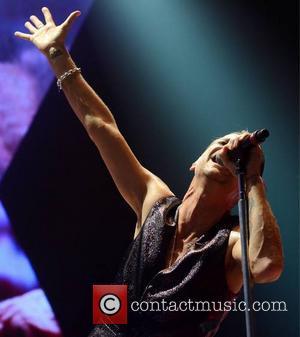 Dave Gahan - Depeche Mode perform at The O2... - Dublin, Ireland - Sunday 10th November 2013