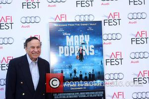 Mary Poppins and Richard M Sherman