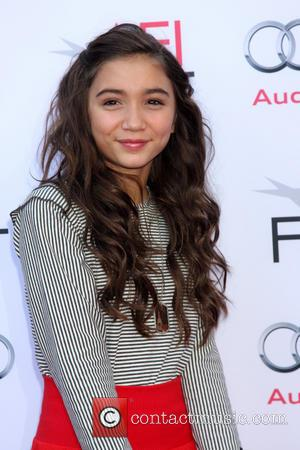 Rowan Blanchard - Mary Poppins 50th Anniversary Screening at AFI Fest at TLC Chinese Theater - Los Angeles, California, United...