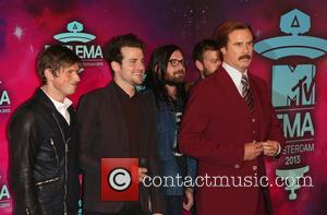 Kings Of Leon and Ron Burgundy