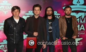 Kings of Leon - 20th MTV Europe Music Awards held at Ziggo Dome - Arrivals - Amsterdam, Netherlands - Sunday...