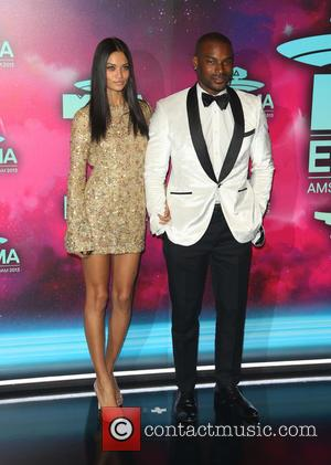 Tyson Beckford and Shanina Shaik - 20th MTV Europe Music Awards held at Ziggo Dome - Arrivals - Amsterdam, Netherlands...