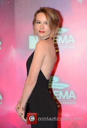 Bridgit Mendler - 20th MTV Europe Music Awards held at Ziggo Dome - Arrivals - Amsterdam, Netherlands - Sunday 10th...