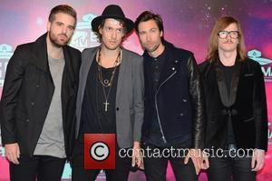 Imagine Dragons - 20th MTV Europe Music Awards held at Ziggo Dome - Arrivals - Amsterdam, Netherlands - Sunday 10th...