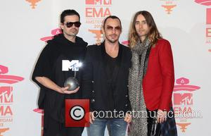 Jared Leto and 30 Seconds To Mars