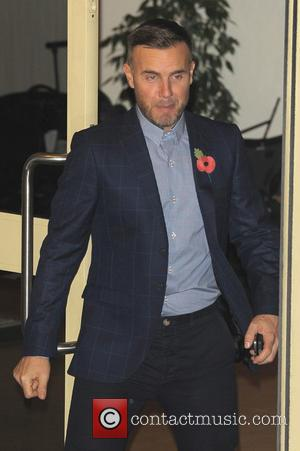Gary Barlow - Celebrities at the 'X Factor' studio - London, United Kingdom - Sunday 10th November 2013