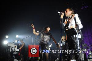 Régine Chassagne and Win Butler