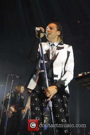 Win Butler - Canadian indie rock band, Arcade Fire performing in concert at the Roundhouse - London, United Kingdom -...