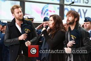 Charles Kelley, Hillary Scott, Dave Haywood and of Lady Antebellum - NBC Today Show Presents Lady Antebellum on Veterns Day...