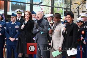 Savannah Guthrie, Matt Lauer, Al Roker and Tamron Hall - NBC Today Show Presents Lady Antebellum on Veterns Day -...