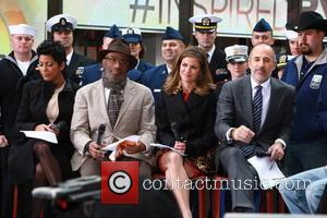Tamron Hall, Al Roker, Natalie Morales and Matt Lauer - NBC Today Show Presents Lady Antebellum on Veterns Day -...