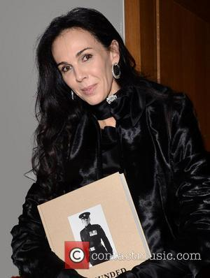 L'Wren Scott - Bryan Adams Book Launch Party