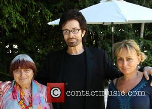 Agnes Varda, George Chakiris and Rosaline Bardot