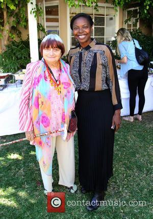 Agnes Varda and Jacqueline Lyanga