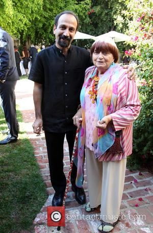 Asghar Farhadi and Agnes Varda