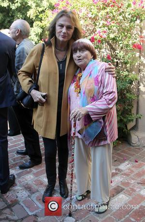 Jacqueline Bisset and Agnes Varda