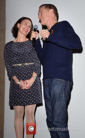 Caroline Frogatt and Bryan Adams