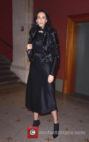 L'Wren Scott - Bryan Adams: Wounded: The Legacy of War - book launch party at the National Portrait Gallery, London...