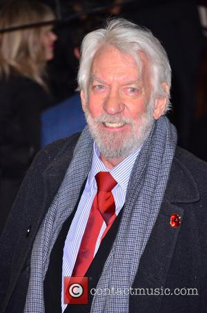 Donald Sutherland - The world premiere of 'Hunger Games' held at the Odeon Leicester Square - Arrivals - London, United...