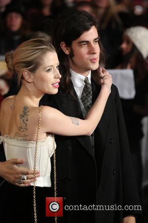 Peaches Geldof and Thom Cohen - The Hunger Games: Catching Fire world premiere - Arrivals - London, United Kingdom -...