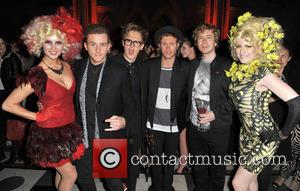 Danny Jones, Tom Fletcher, Dougie Poynter and James Bourne