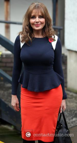 Carol Vorderman - Carol Vorderman outside the itv studios - London, United Kingdom - Monday 11th November 2013
