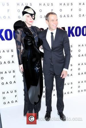 Jeff Koons and Lady Gaga