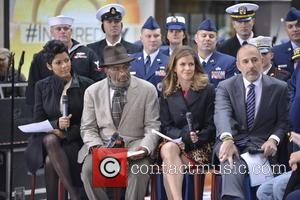 Tamron Hall, Al Roker, Natalie Morales and Matt Lauer - The Today show in New York - Manhattan, New York,...