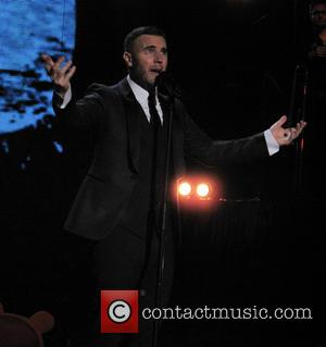 Gary Barlow - Children in Need Rocks concert at Hammersmith Apollo - Performance - London, United Kingdom - Tuesday 12th...