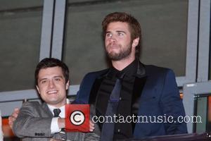 Josh Hutcherson and Liam Hemsworth