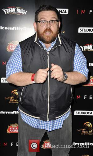Nick Frost - London film premiere of 'In Fear' - Arrivals - London, United Kingdom - Tuesday 12th November 2013
