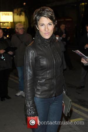 Tamsin Greig - Press night for 'Jeeves and Wooster in Perfect Nonsense' at Duke of York's Theatre - Arrivals -...