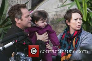 Olivia Colman and Tom Hollander