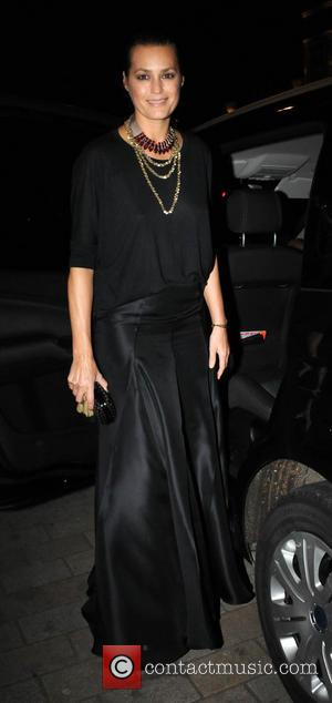 Yasmin Le Bon - Tunnel of Love charity event for the British Heart Foundation held at One Mayfair - Outside...