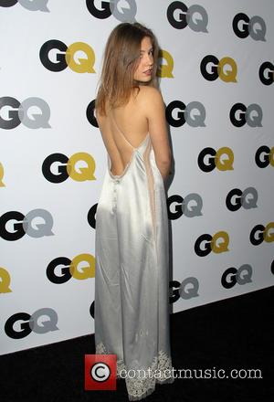 Adele Exarchopoulos - GQ Men Of The Year Party at The Wilshire Ebell Theatre - Arrivals - Los Angeles, California,...