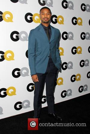 Michael B. Jordan - GQ Men Of The Year Party at The Wilshire Ebell Theatre - Arrivals - Los Angeles,...