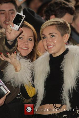 Miley Cyrus - Celebrities seen at the BBC Radio 1 studios. - London, United Kingdom - Tuesday 12th November 2013