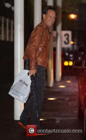 Richard E Grant - Richard E Grant outside the itv studios - London, United Kingdom - Tuesday 12th November 2013