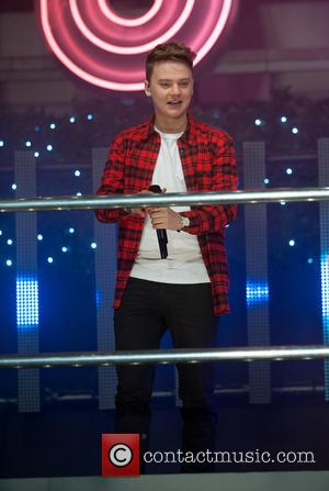 Conor Maynard - Oxford Street Christmas Lights switching on. - London, United Kingdom - Tuesday 12th November 2013