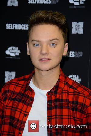 Conor Maynard - Christmas lights for the famous London High Street are turned on at event hosted by Selfridges -...