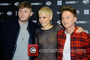 James Arthur, Jessie J and Conor Maynard
