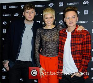 James Arthur, Jessie J and Conor Maynard