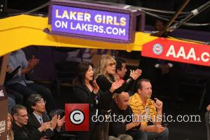 Dyan Cannon - Tuesday  November 12, 2013; Celebs out at the Lakers game. The Los Angeles Lakers defeated the...