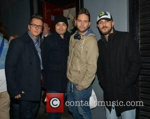 Five - Ritchie Neville, Sean Conlon, Scott Robinson and Abz Love - The remaining members of reformed 90s boyband Five...