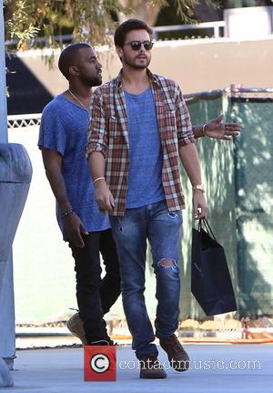 Kanye West and Scott Disick