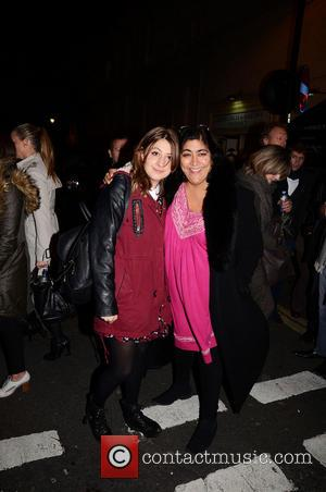 Gurinder Chadha and Georgia Groome
