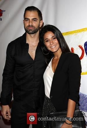 Adrian Bellani and Emmanuelle Chriqui - 'Stand Up For Gus' benefit held at Bootsy Bellows - Arrivals - Los Angeles,...