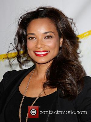 Rochelle Aytes - 'Stand Up For Gus' benefit held at Bootsy Bellows - Arrivals - Los Angeles, California, United States...