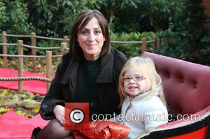 Natalie Cassidy and Eliza Cottrell - 'Meet Santa' photocall held at ZSL London Zoo - London - Wednesday 13th November...