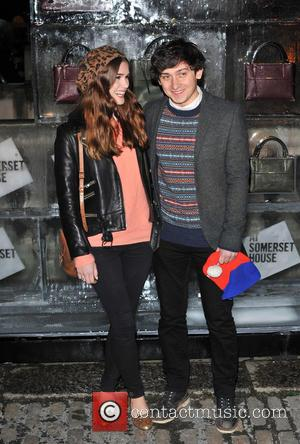 Craig Roberts and Guest - Skate at Somerset House VIP launch - Arrivals. - London, United Kingdom - Wednesday 13th...